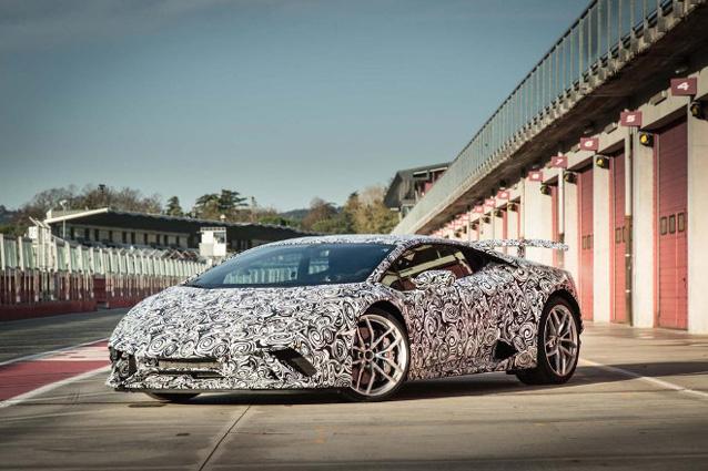 Lamborghini Huracan Performante – Foto www.auto motor und sport.de