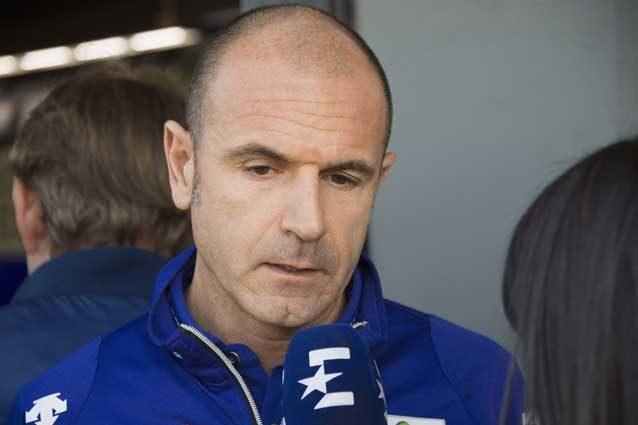 Il direttore sportivo del team Yamaha, Massimo Meregalli