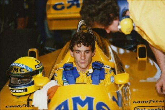 Senna Lotus 1987