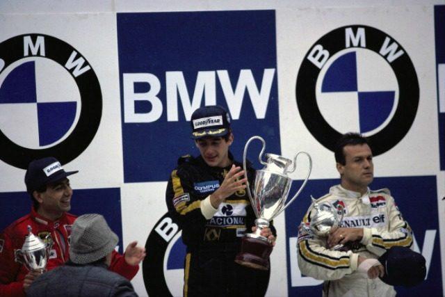 Vittoria Senna, Alboreto secondo