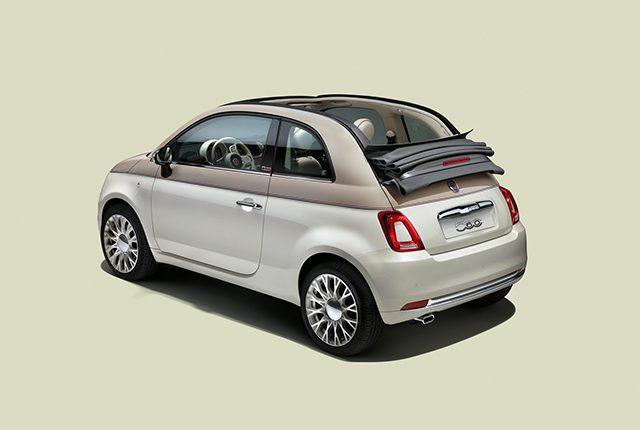 Fiat 500 edizione limitata anniversario