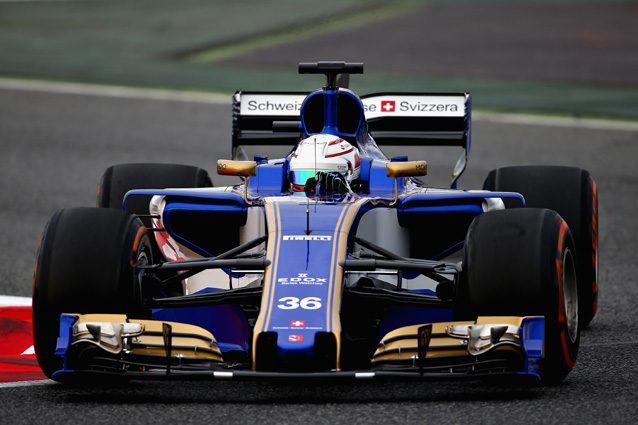 Antonio Giovinazzi al volante della Sauber – Getty Images