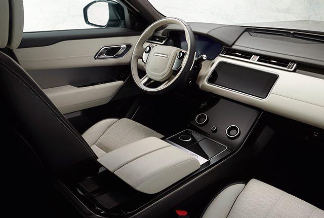 Interni Range Rover Velar