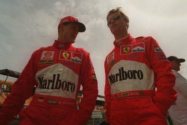 Schumacher Irvine 1998