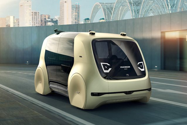 Sedric, il nuovo concept della Volkswagen presentato al Salone di Ginevra