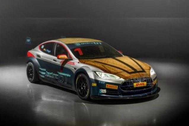 La Tesla Model S che parteciperà al campionato GT – Foto @Bcomp