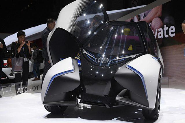 Toyota i-Tril Concept al Salone di Ginevra 2017