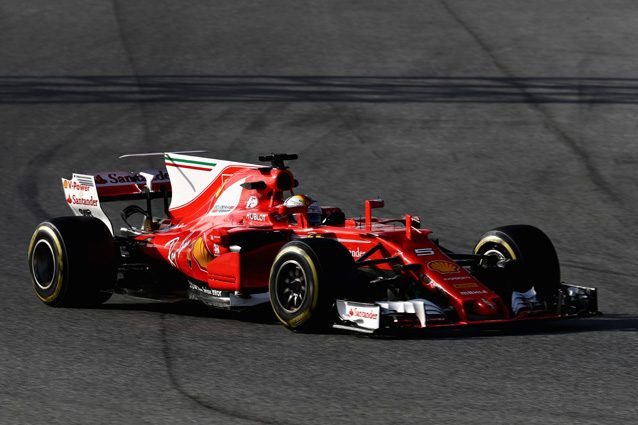 F1 2017 Test Barcellona-2 Day-3: Vettel in testa alla classifica con record