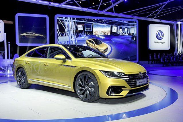 Volkswagen Arteon al Salone di Ginevra 2017