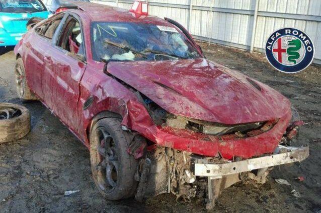 Alfa Romeo Giulia Distrutta