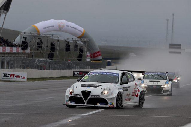 Alfa Romeo Giulietta vittoria TCR