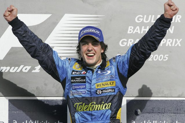 Fernando Alonso nel 2005 – Getty Images