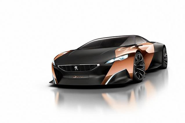 Anteprima della nuova Peugeot Onyx.