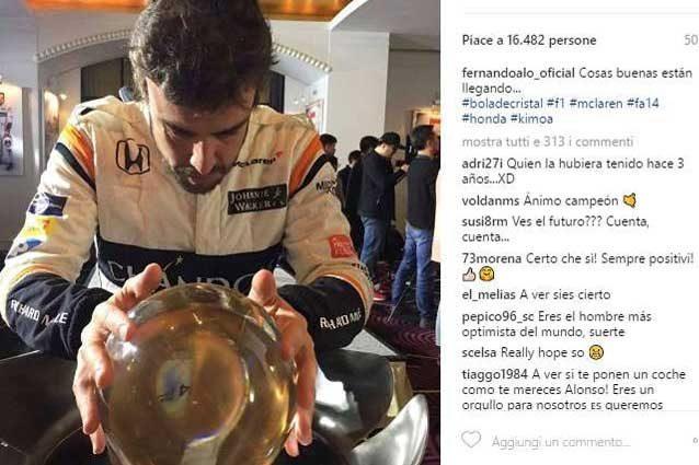 Fernando Alonso corona il sogno di correre alla 500 Miglia di Indianapolis