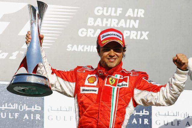 Felipe Massa esulta per il primo posto ottenuto nel 2007 – Getty Images