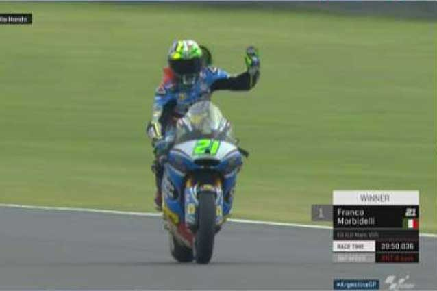 Moto2: super Morbidelli, vince anche in Argentina / MotoGp.com