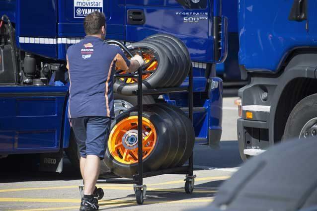 MotoGP, Michelin con due gomme posteriori asimmetriche in Argentina