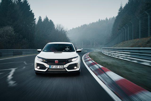 Al volante della nuova Honda Civic