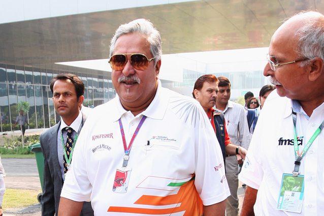 Vijay Mallya, proprietario della Force India – Getty Images