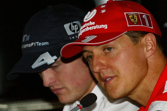 Michael e Ralf Schumacher 2003