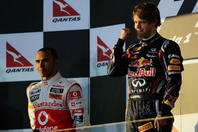 Podio GP Australia 2011