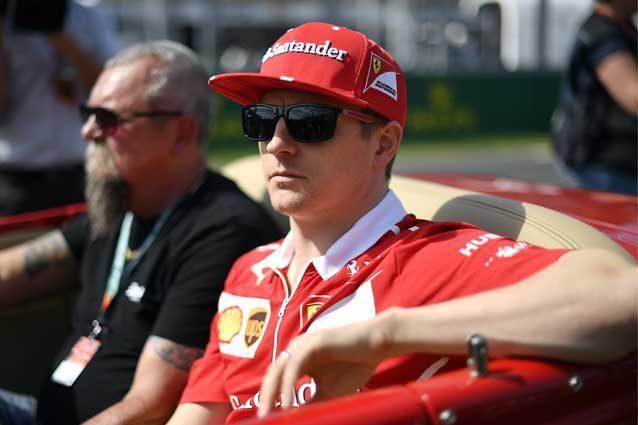 Kimi Raikkonen, 38 anni il prossimo ottobre / GettyImages