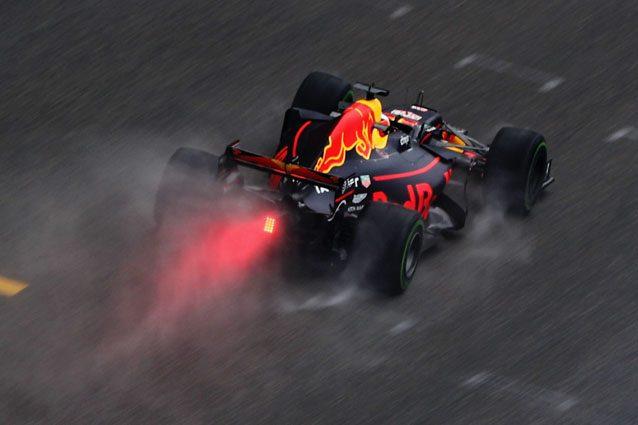 La Red Bull impegnata sul circuito di Shanghai – Getty Images