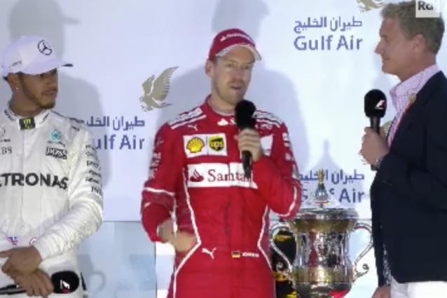 """Vettel: """"Una gioia indescrivibile. La Ferrari è una grande squadra"""""""