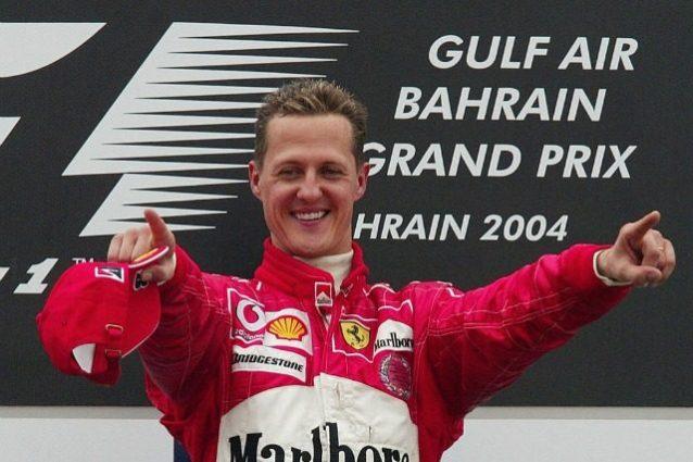 Schumacher Bahrein 2004