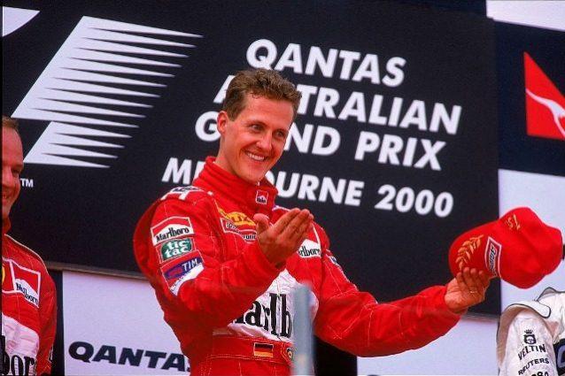 Schumacher vittoria a Melbourne 2000