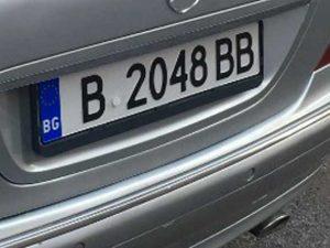 Auto con targa bulgara, niente multa per chi circola senza assicurazione