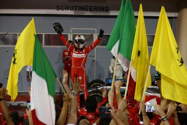Vettel, fenomeno in Bahrain. Bravo pure Kimi. McLaren a fondo