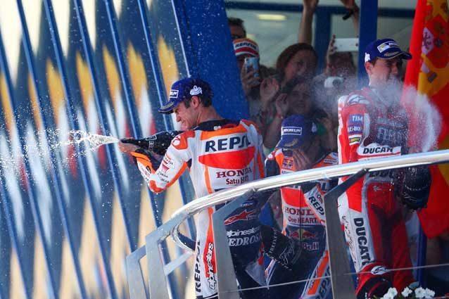 """MotoGP Jerez, Pedrosa: """"Vittoria bestiale"""" Marquez: """"Punti importanti"""""""
