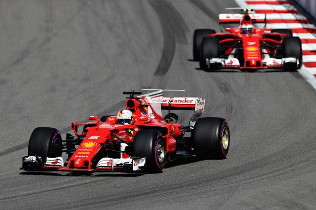 Le due Ferrari a Sochi – Getty Images