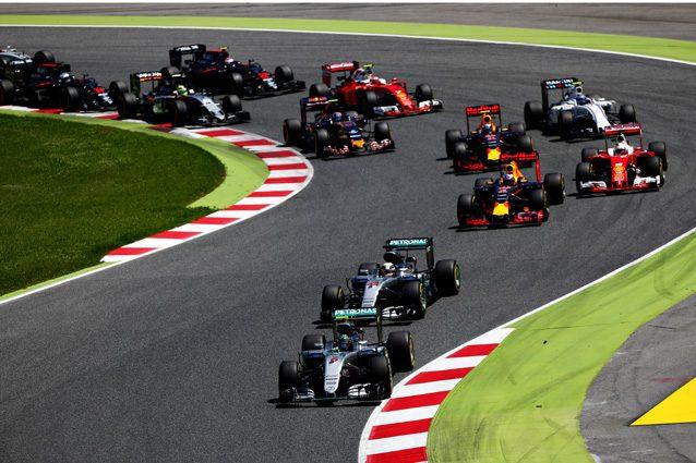 La partenza del GP d Spagna 2016 – Getty Images