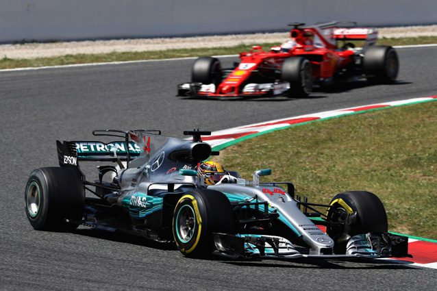 Hamilton davanti a Vettel – Getty Images