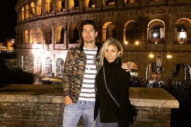 Nicky Hayden insieme alla fidanzata Jacqueline Marin / Instagram