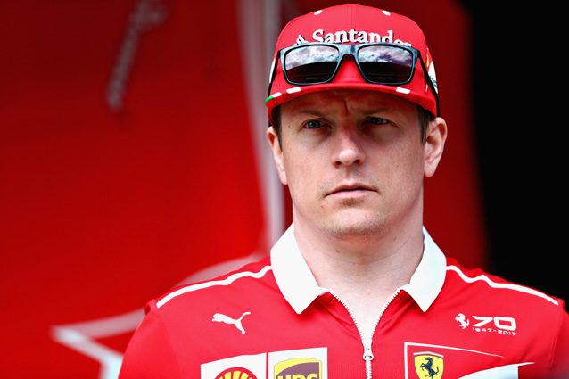 Kimi Raikkonen – Getty Images
