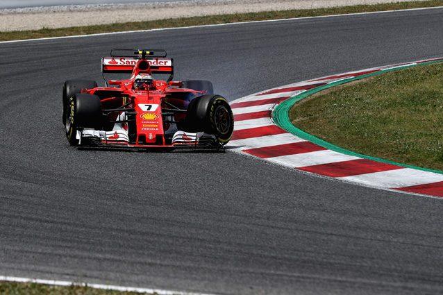 Kimi Raikkonen con l'anteriore danneggiata – Getty Images