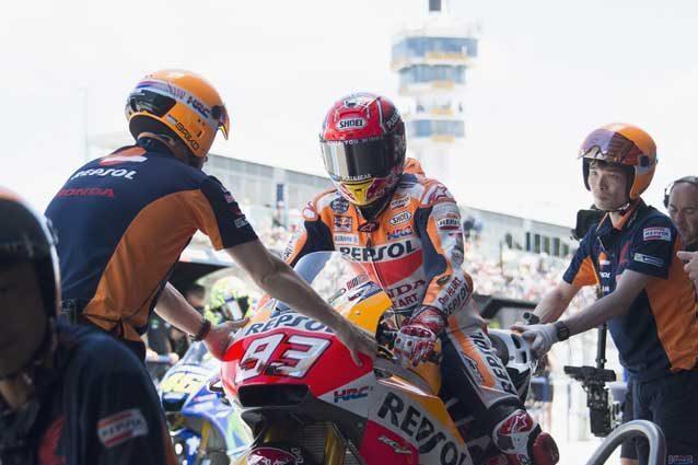 MotoGP, nuove regole in caso di pioggia