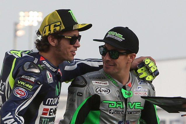 """Valentino Rossi: """"Hayden, amico vero. Siamo tutti con te"""""""