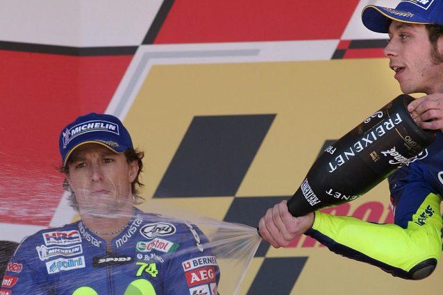 """GP di Spagna story, 2005: la """"spallata"""" di Valentino"""