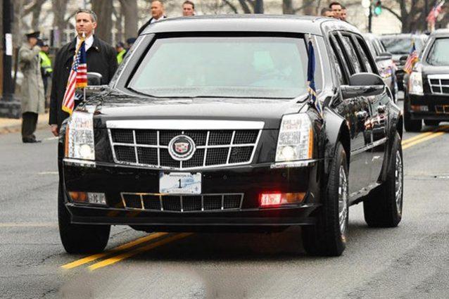 le auto dei leader del g7 dalla bestia di trump alla. Black Bedroom Furniture Sets. Home Design Ideas