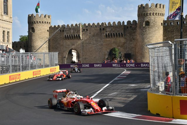Le previsioni meteo per il GP d'Azerbaigian 2017 di Formula 1