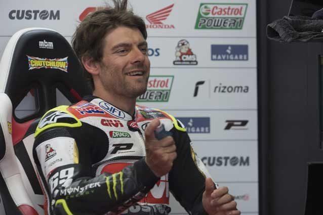 MotoGP, Crutchlow: altri due anni con Cecchinello e HRC