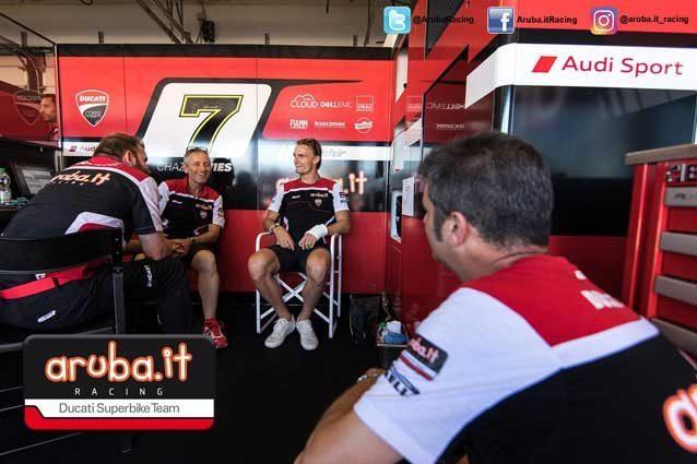 Ducati vince in Gara 2 a Misano con Marco Melandri