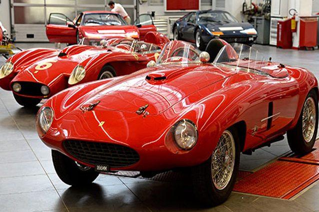 Ferrari Classiche – @Foto Sito media Ferrari