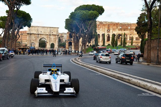 La Formula E sbarca a Roma – Getty Images