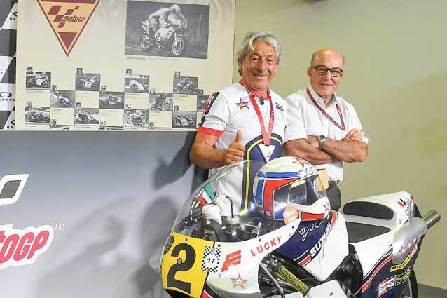 Marco Lucchinelli nominato leggenda della MotoGP / Motogp.com
