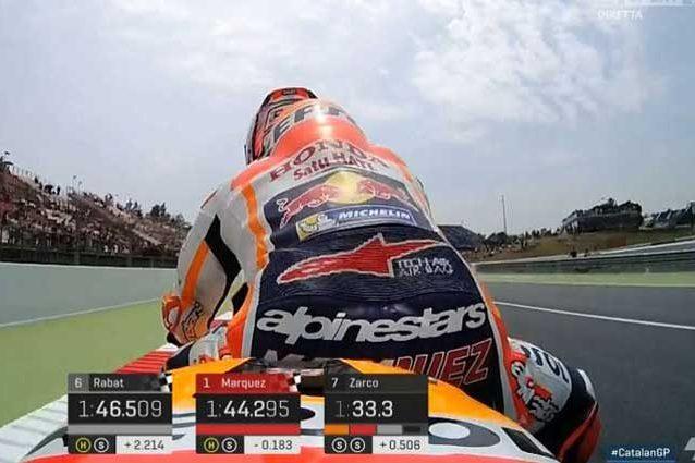 MotoGP Barcellona, Marquez si conferma al top, 10° Rossi